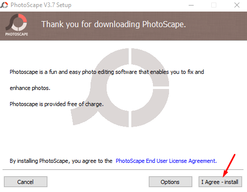 PhotoScape for Windows