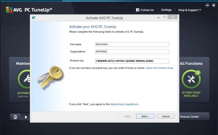 DownloadAVG TuneUp Utilities 2016 Offline Installer
