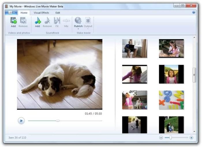 DownloadWindows Live Movie Maker Offline Installer