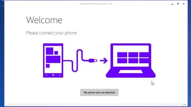Download Windows Phone Recovery Tool Offline Installer