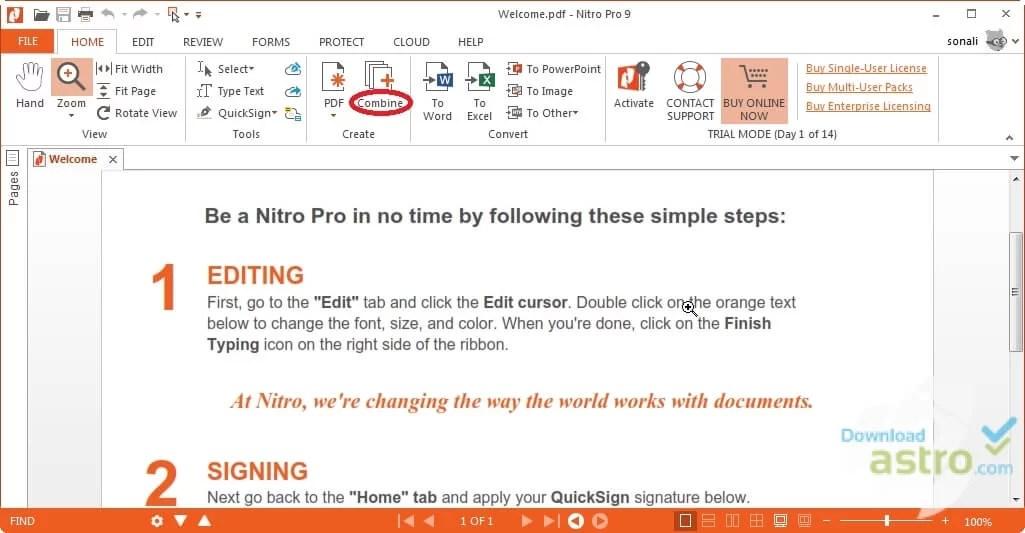 Offline pdf installer