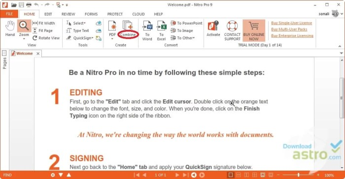 Download Nitro PDF Reader Offline Installer