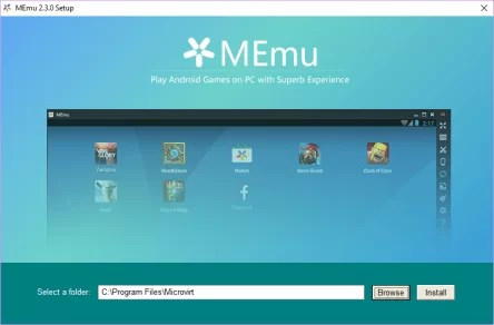 Download MEmu Offline Installer