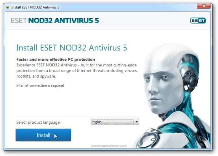 Download ESET Nod32 Offline Installer