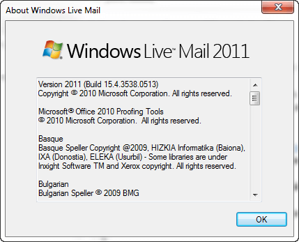 Download Windows Live Mail Offline Installer