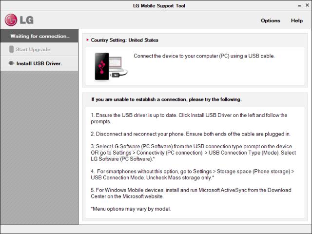 Download LG Mobile Support Tools Offline Installer
