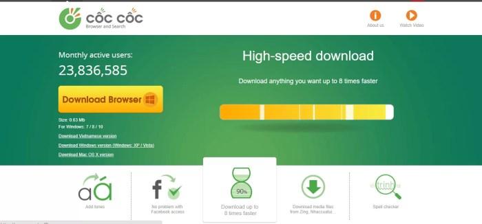 Download Coccoc Offline Installer