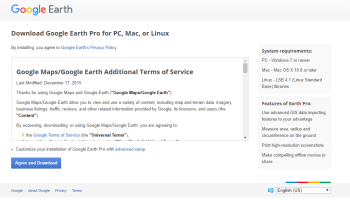 Google Earth Offline Installer for Windows PC - Offline Installer Apps