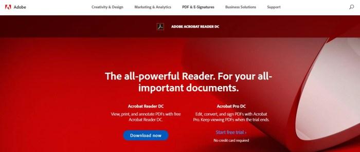 adobe reader exe free download