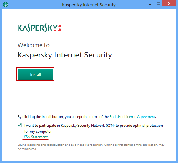Kaspersky Internet Security Offline Installer