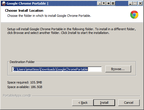 Download Google Chrome Portable Offline Installer