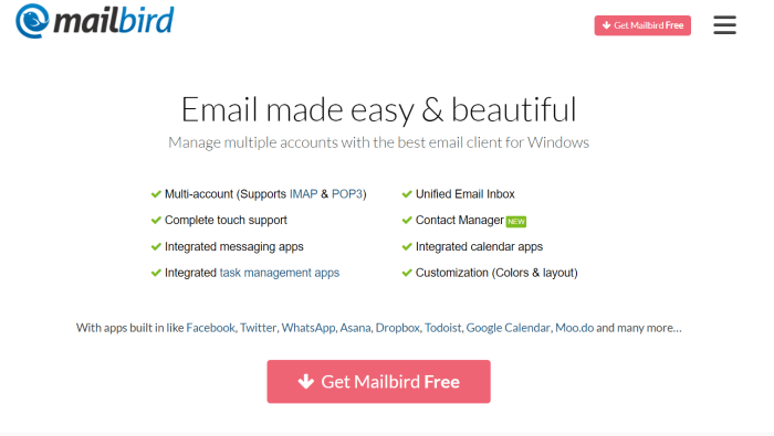 Download Mailbird Offline Installer