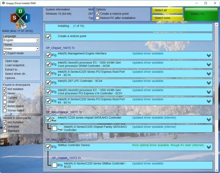 Download Snappy Driver Offline Installer