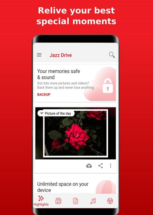 Screenshot-Jazz-Drive-App