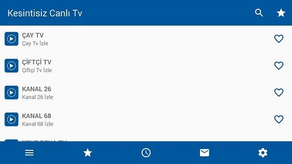 Screenshot-Kesintisiz-TV-App