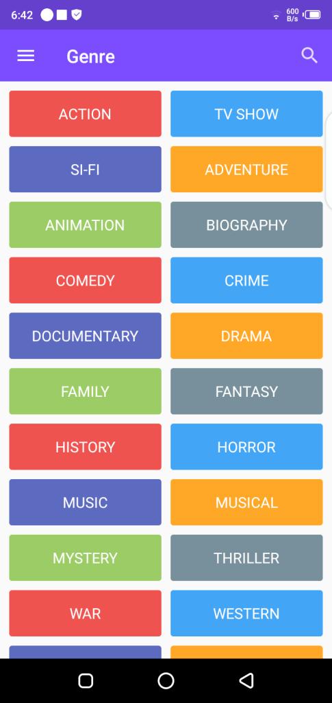 Screenshot of Dramaqu App