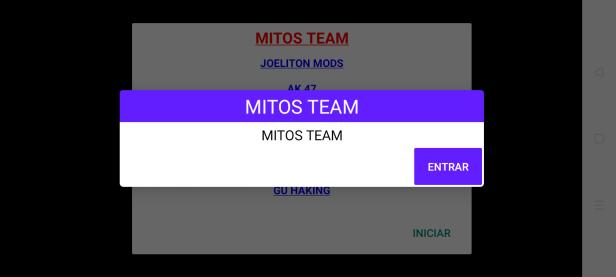 Screent of Mitos Team Apk