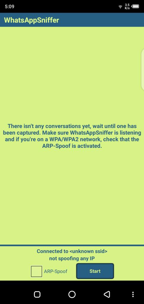 Screenshot of WhatsApp Sniffer & Spy Tool Apk