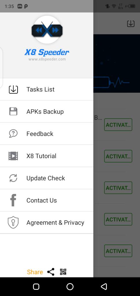 Screenshot of X8 Speeder App Apk