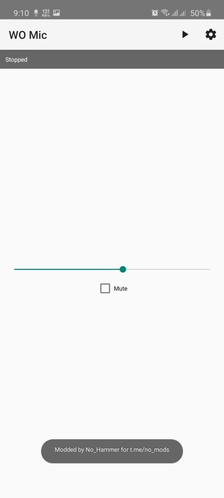Screenshot of Wo Mic Pro App