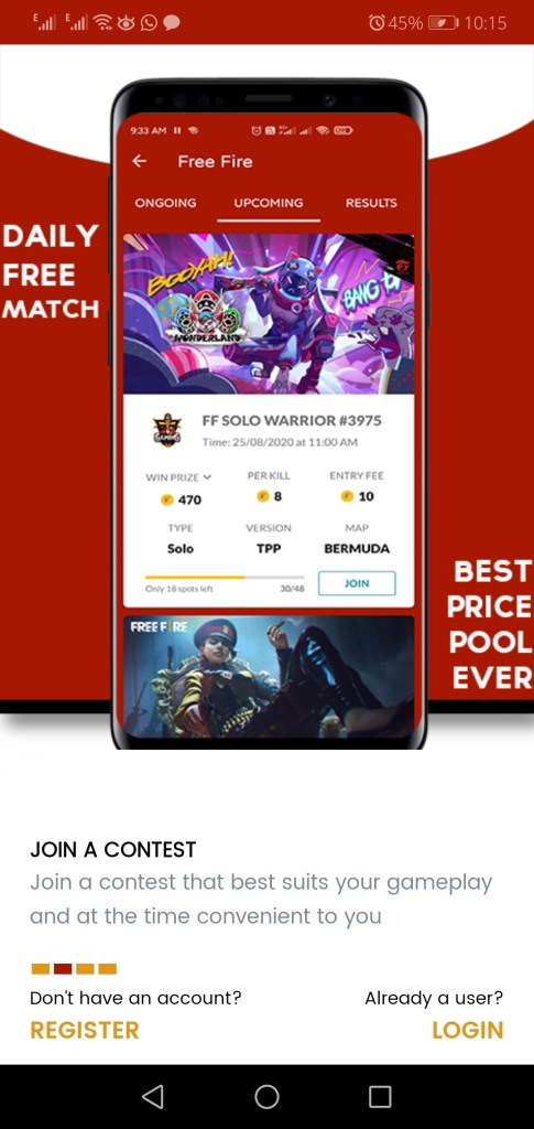 Screenshot of Gaming Point Apk