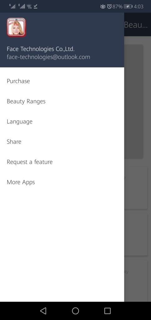 Screenshot of Perfect Face Ratio App Apk