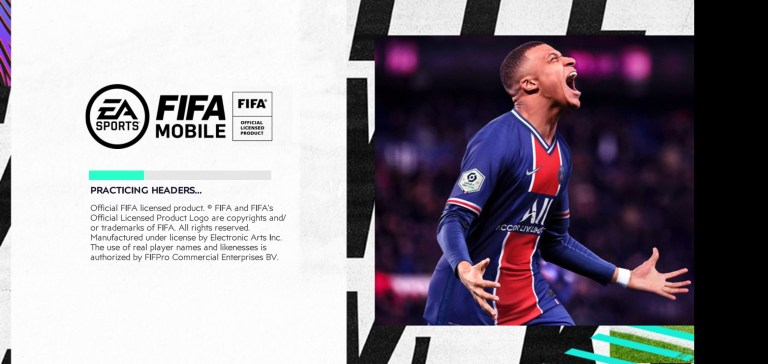 Screenshot of FIFA Mobile 21
