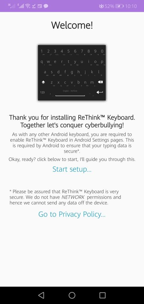 Screenshot of Rethink Apk