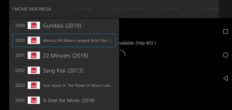 Screenshot of MKCTV App Apk