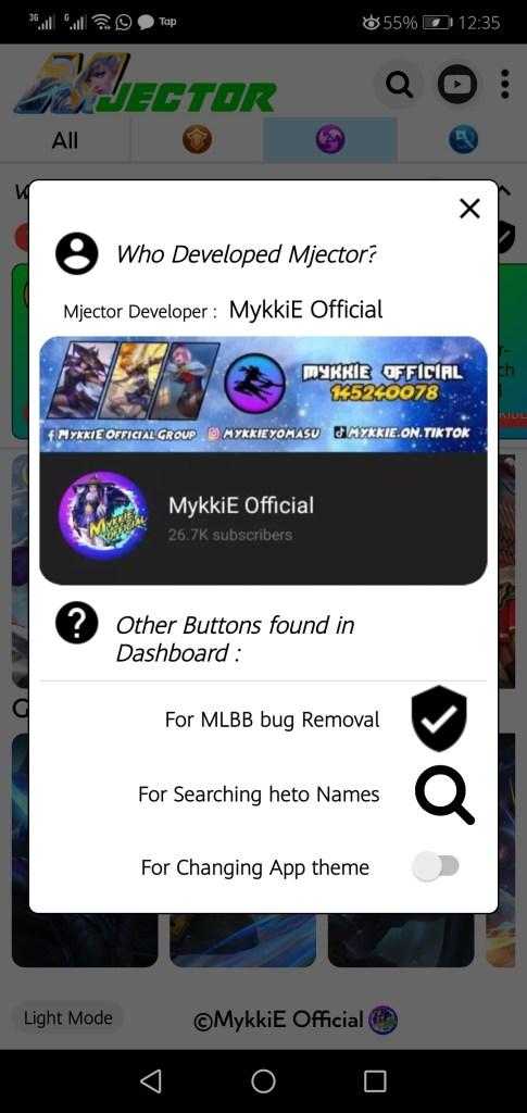 Screesnhot of Mjector ML App Apk
