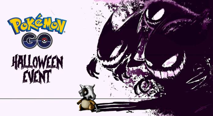 Pokemon go halloween evento