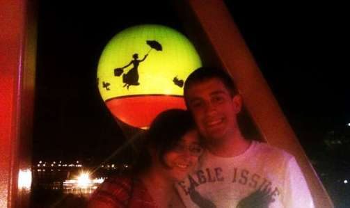 Jim and Adriana at Downtown Disney
