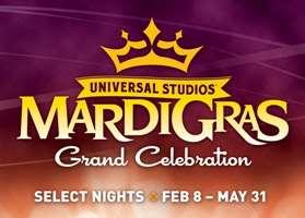 Mardi Gras Logo Universal Orlando