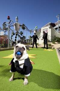 Invaders from Planet Putt - Orlando Fun and Food