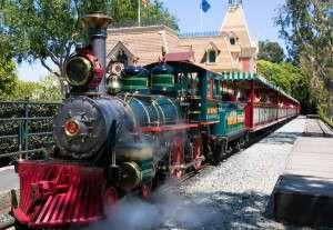 Steam train engine