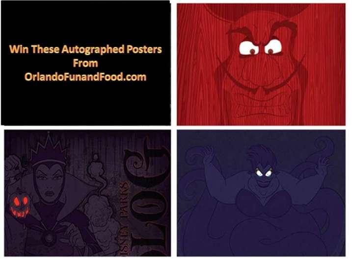 Disney Villain Poster Giveaway