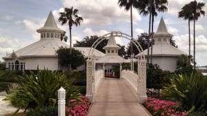 Bridge to Wedding Pavilion