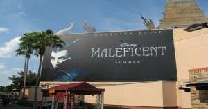 Movie Billboard at Hollywood Studios