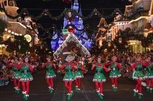 Mickeys Once Upon a Christmastime parade - Orlando Fun and Food