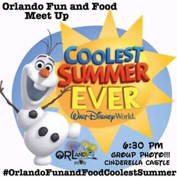 Orlando Fun and Food Coolest Summer Ever Meetup