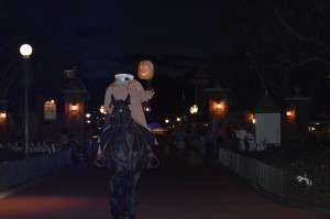 Headless Horseman At Walt Disney World