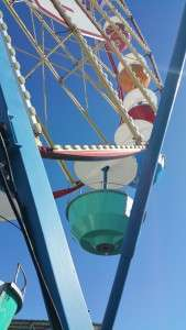 Without safety measures, this ride suddenly became a thrill ride!