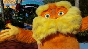 The loveable and wise Lorax!