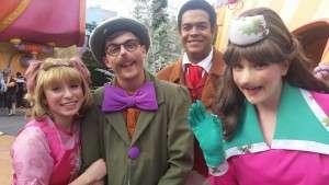 Cindy Lou, Betty Lou, Lou, and the Grinchmas Narrator!
