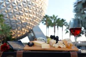 """Guests can sample tapas-sized tastes of inventive cuisine from more than 25 ethnic and specialty marketplaces during the Epcot International Food & Wine Festival at Walt Disney World Resort in Lake Buena Vista, Fla.Ê The popular fall festival also features wine tastings, culinary demonstrations, mixology seminars, nightly """"Eat to the Beat"""" concerts and a broad range of premium dining events. (Chloe Rice, photographer)"""