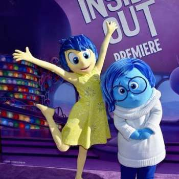 Inside Out Joy and Sadness