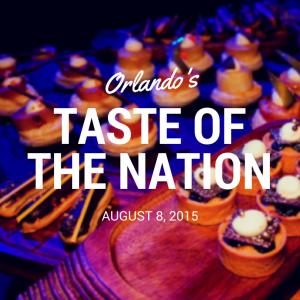 Taste of the Nation Orlando