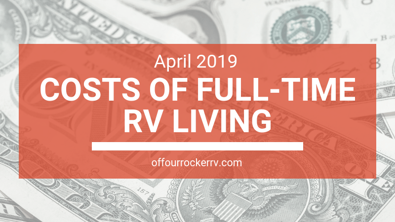 COSTS OF FULL-TIME RV LIVING_ APRIL 2019
