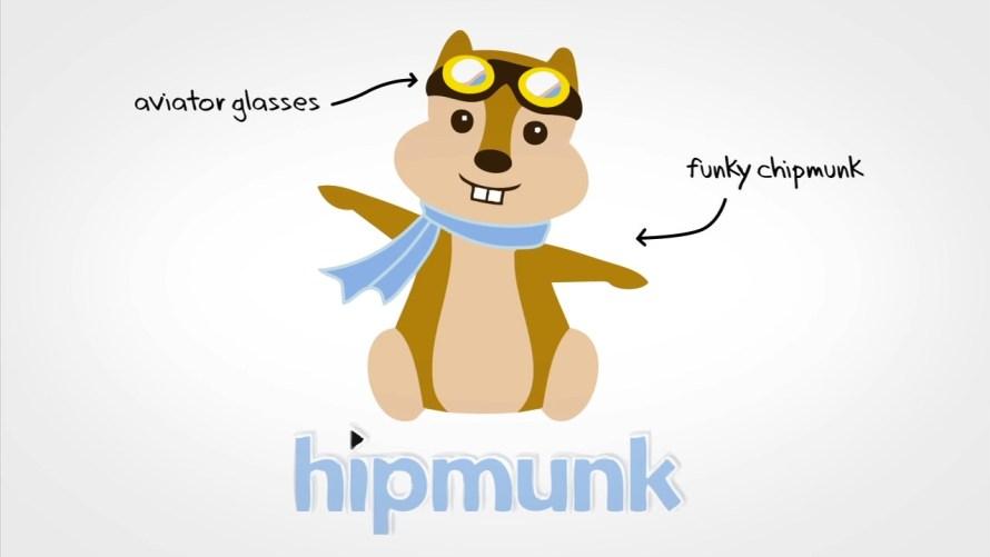 Hipmunk maskot, zdroj: Grumomedia.com
