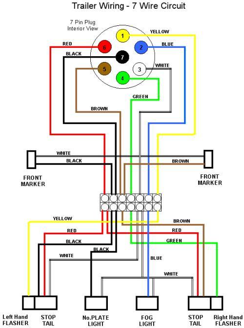 7 wire trailer wiring?resize=500%2C672 wiring diagram 2003 chevy silverado the wiring diagram chevy trailer plug wiring diagram at soozxer.org